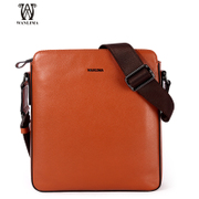 Wan Lima men's European leisure Japan package vertical fashion shoulder bag Messenger bag IPADMINI bag