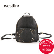 Westlink/XI-fall 2015 Europe Chao rivets small shoulder bag