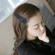 Know Connie hair accessories Korean ladies fashion glitter sequin pin BB clip bangs clip Clip hairpin jewelry