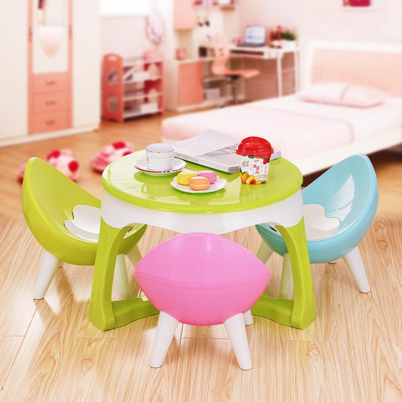 儿童桌椅套装幼儿园宝宝学习写字画画桌子小孩椅子学生书桌游戏桌