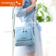 Red Dragonfly handbags fall/winter new fashion Crossbody shoulder bag ladies and snack bags