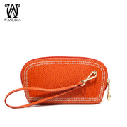 Wanlima/million 2015 winter new lady hand bag change bag leather handbag women's cell phone bags