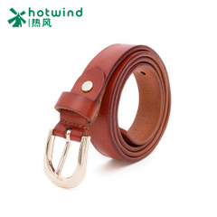 Hot air 2015 leisure Joker ladies leather lead Kraft corrugated pin buckle belt belts tide 5301H5702