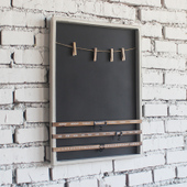 Wall Mounted Decorative Blackboard