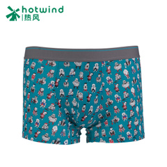 Hot air spring men's underpants cartoon anime seamless printing boyshort brief boxers tide 91W015906