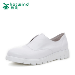 Hot spring of 2016 new suede leather casual shoes with a pedal deep female flat shoes H02W6180