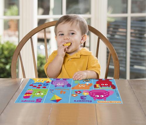 现货Neat Solutions宝宝一次性餐垫儿童便携式餐桌垫单张单面贴