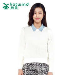 Hot spring and spring and autumn new style women''''s sweet sweater ladies crew neck long sleeve cotton sweater 08H5101