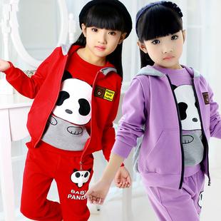 3童装5女童秋装套装2016新款4韩版6女孩7春秋8三件套9夏装10岁潮