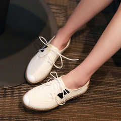 2015 spring new student shoes shoes fashion casual canvas shoes flat shoes comfortable round head low shoes
