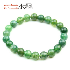 Bao natural agate jewelry natural grass green agate Crystal bracelet women jewelry bracelets