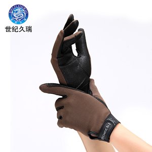 Century Jiurui outdoor supplies equestrian equipment accessories riding non-slip gloves men and women children's equestrian gloves breathable