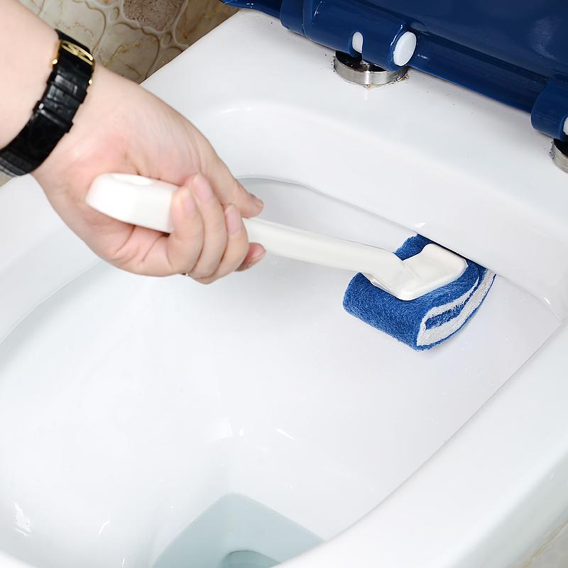 日本免洗剂马桶刷子无死角软毛创意厕所刷卫生间洁厕刷马桶刷套装