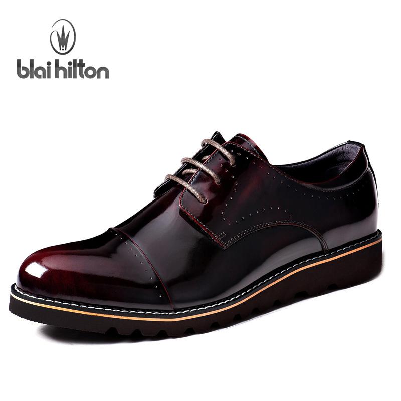 男士休闲商务西裤男系带皮鞋英伦尖头亮皮漆皮男鞋复古男版鞋