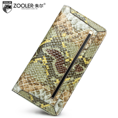 Jules the fashion purse snakeskin leather leisure around wallet 2015 new clutch bag for fall/winter trends