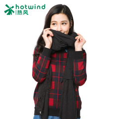 Hot new scarves women long Korean winter scarf plain gold dual-use 94H015700