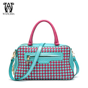 Wanlimawanlima 2015 new woven shoulder bag handbags for fall/winter fashion Lady bag authentic