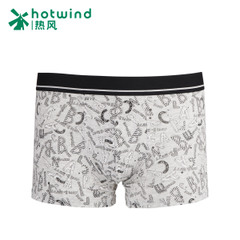 Hot cartoon anime new men's underwear tide letter printing boyshort Boxer shorts 91W015700