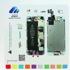 记忆iphone6plus磁性拆机塑料螺丝垫v记忆垫iphone6苹果螺丝板图手机商标制作图片