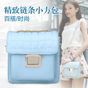 ZYA handbag 2015 new wave summer Candy-colored shoulder bags diagonal about the simple little bag chain bag