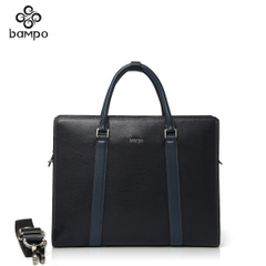 Banpo leather man bag business men hand bags slung header layer of leather handbag laptop bag Briefcase