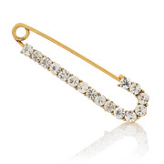 Good Korean rhinestones jewelry pin fashion scarf buckle shoulder clasp pins female Joker package mail