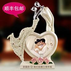 送闺蜜朋友创意结婚礼物新婚庆婚房卧室实用摆件高贵订婚工艺礼品