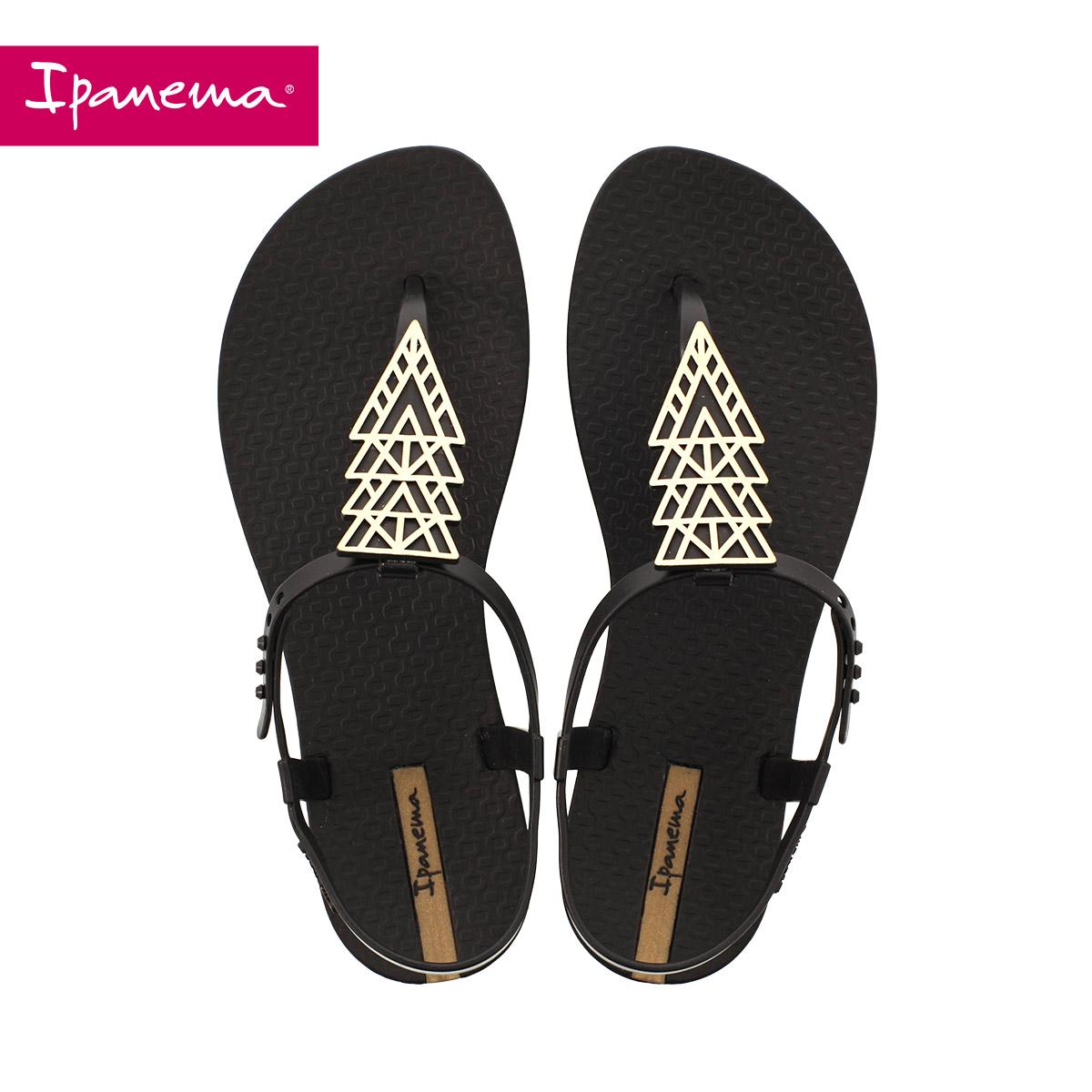 Ipanema 2017新款 璀璨系列夹脚凉鞋女士夏罗马平底沙滩鞋凉拖