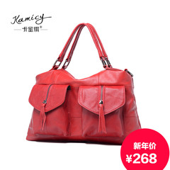aeacd6661736 Kamicy Camilla Pucci autumn 2015 new shoulder bag leather handbag fashion  in Europe and America
