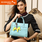 New handbag OL bag of Commerce red Dragonfly single diagonal shoulder bag casual ladies fashion handbag