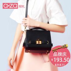 aza阿札夏季新款女包包 潮流时尚小方包手提小包单肩包斜挎包5770
