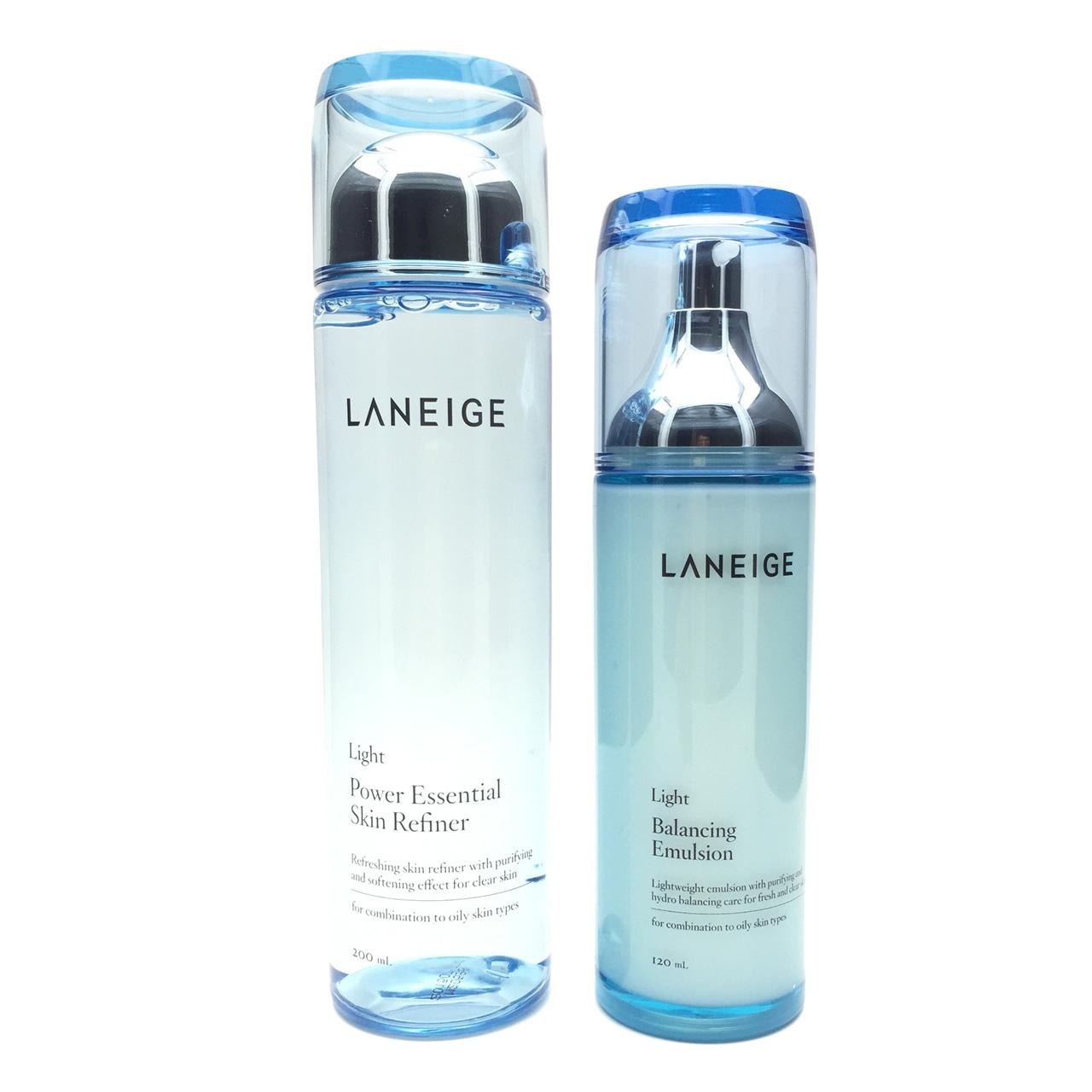Laneige/兰芝爽肤水乳液组合套装 清爽型/滋润型 韩国专柜代购