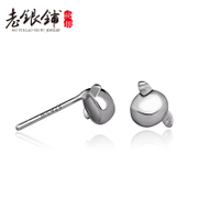 925 fungus nail girl Korea original temperament fungus nail earrings women''s fashion Angels egg fungus nails