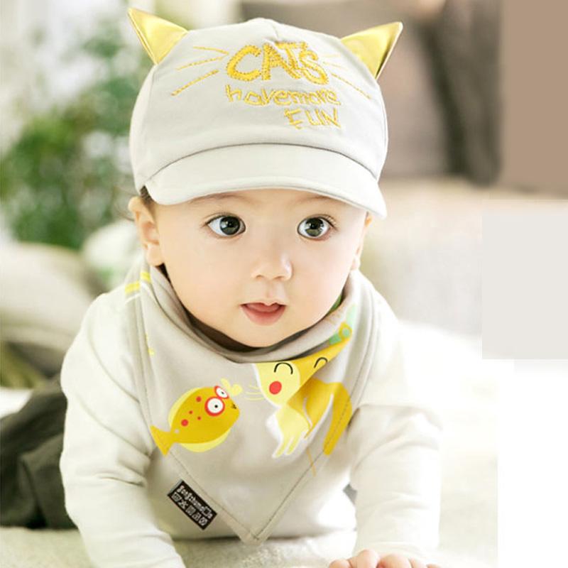 熊朵婴儿鸭舌帽春款6-12月宝宝帽子纯棉男女童韩国棒球遮阳帽包邮产品展示图5