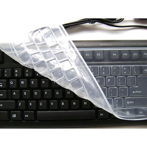 台式机键盘膜保护套通用型透明防水防尘膜平面电脑键盘保护贴膜