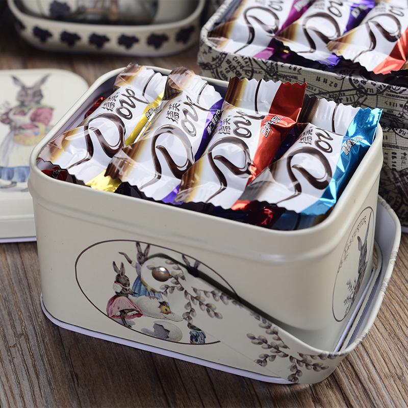 德芙丝滑牛奶巧克力礼盒装生日礼物送女友男友糖果零食礼包