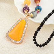 Good fall/winter fashion accessories necklace pendant long necklace Joker strap women''s clothing accessories bags-mail