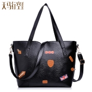 Fanciful 2015 new handbag badges maps: Europe and the simple leisure shoulder bags big bag slung bulk