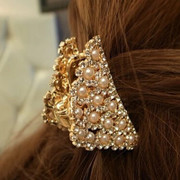 Elegant Korean jewelry Pack email claw clips hair grab Melia hair jewelry rhinestone hairpin birthday gifts