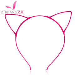 River cat ears headband Korea cute simple thin headband Christmas card concert sell germination headdress ornaments