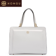 Hongu Valley Red counters 2015 new fashion genuine leather laptop shoulder bag 5026
