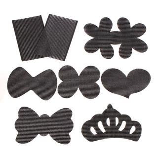 Know Connie hair accessories Korean black seamless broken post Korea fixed bang stick magic stick post head ornaments