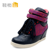 Shoebox/shoe fall/winter increases within the Korean tourism and leisure shoes color shoes wave 1114505002