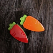 Know latest hair jewelry cute carrot small side clamp NI super cute Barrette Korean Korean fashion fringe clips