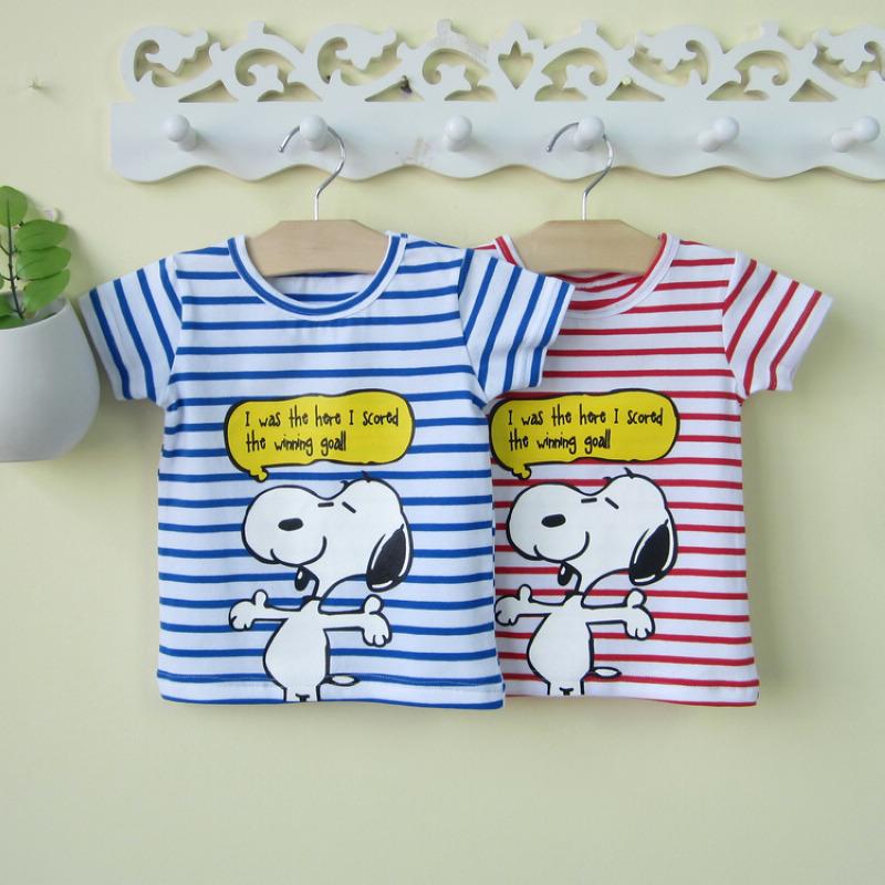 小童男宝宝短袖t恤0-1-3岁潮婴幼儿夏装夏季半袖洋气婴儿上衣薄款