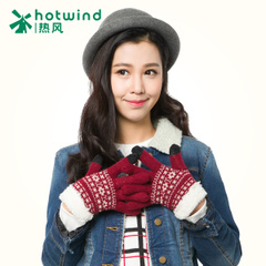 Hot new wild wool gloves women winter Korean students thicken glove 88H035700