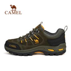 【2016新品】CAMEL骆驼户外情侣款徒步鞋 防滑减震舒适男女徒步鞋