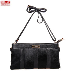 Clearance leather small bag 2015 new show package horse-ladies clutch bag shoulder bag in Europe and America specials