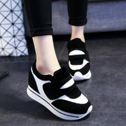 Designer shoes Trends 2015 fall increased Korean student women's shoes platform Velcro shoes sport shoes women