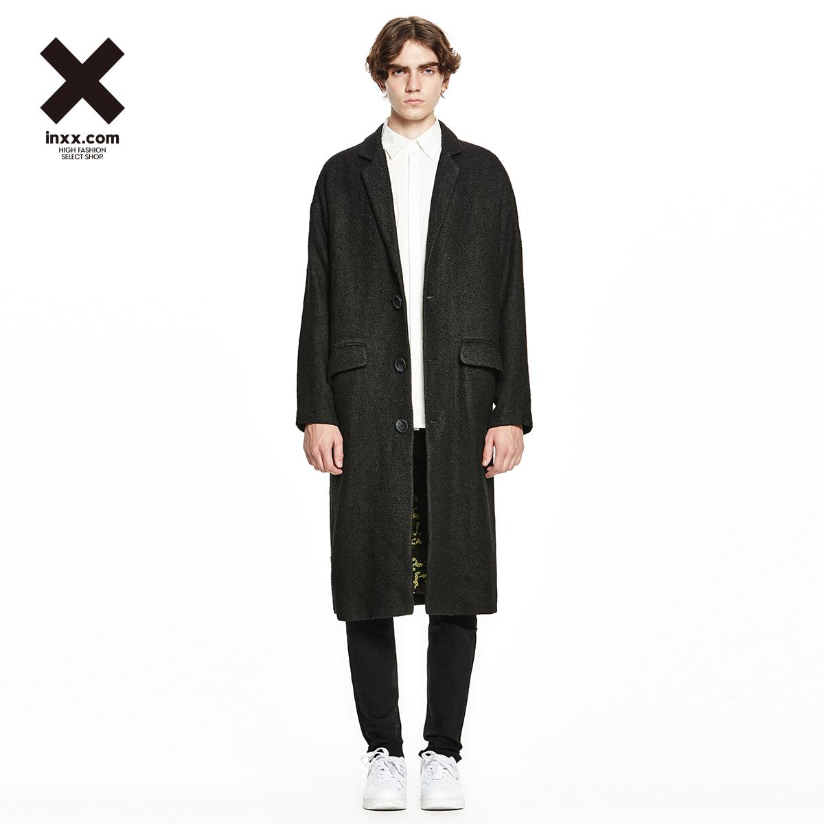 【INXX】Eric Chang原创潮牌长款风衣EC53209209